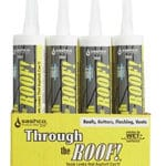 Stucco Crak Repair Products - Through The Roof Sealer